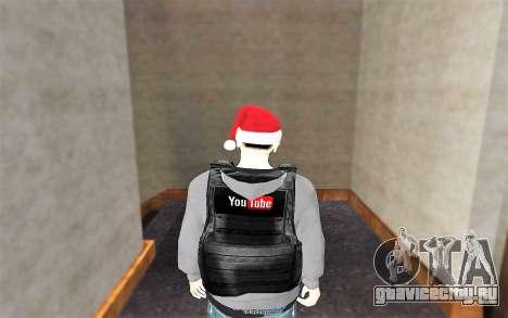 Новый пуленепробиваемый жилет для GTA San Andreas третий скриншот