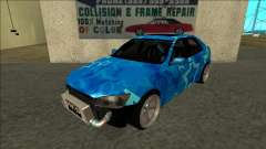 Lexus IS300 Drift Blue Star для GTA San Andreas