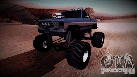 Rancher Monster Truck для GTA San Andreas