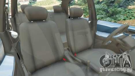 Suzuki Liana для GTA 5 вид справа