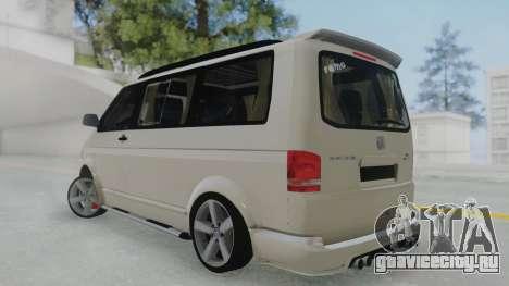 Volkswagen Transporter TDI для GTA San Andreas вид слева