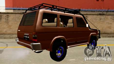Toyota Kijang Grand Extra Off-Road для GTA San Andreas вид сзади слева