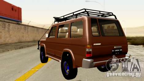 Toyota Kijang Grand Extra Off-Road для GTA San Andreas вид слева