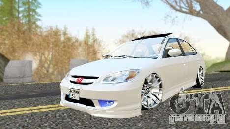 Honda Civic Vtec 2 для GTA San Andreas