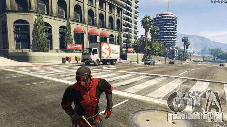 The Deadpool Mod для GTA 5