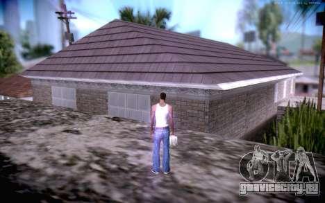New CJ Home для GTA San Andreas третий скриншот