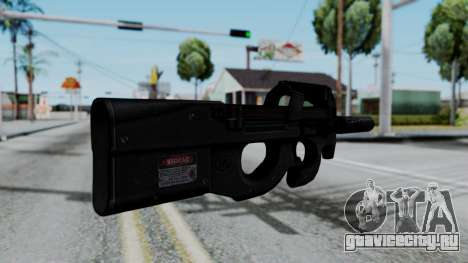 P90 для GTA San Andreas второй скриншот