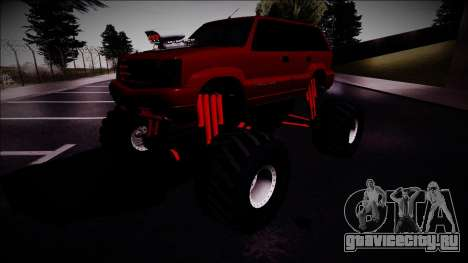 GTA 4 Cavalcade Monster Truck для GTA San Andreas вид справа