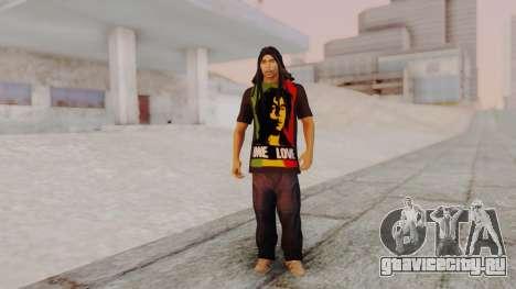 Bob Marley для GTA San Andreas второй скриншот