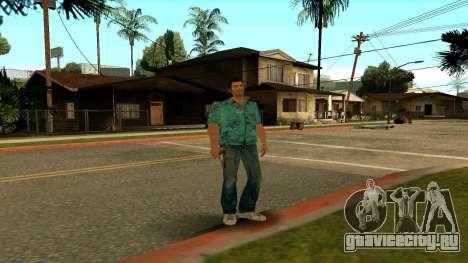 Tommy Vercetti для GTA San Andreas пятый скриншот