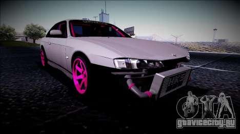Nissan Silvia S14 Drift Monster Energy для GTA San Andreas