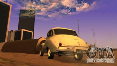 DKW-Vemag Belcar 1001 1964 для GTA San Andreas вид сзади слева