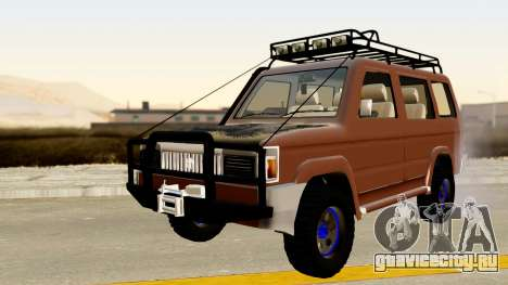 Toyota Kijang Grand Extra Off-Road для GTA San Andreas