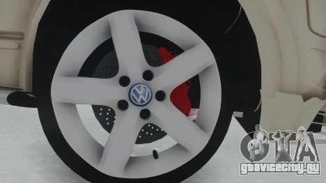 Volkswagen Transporter TDI для GTA San Andreas вид сзади