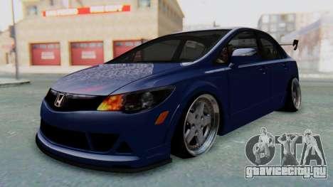 Honda Mugen FD6 для GTA San Andreas вид справа