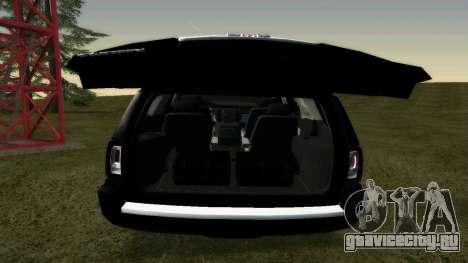 GMC Yukon 2015 для GTA San Andreas вид справа