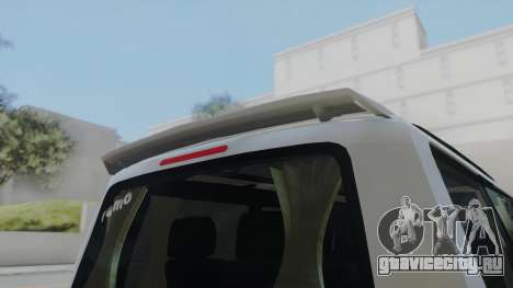 Volkswagen Transporter TDI для GTA San Andreas вид сзади слева