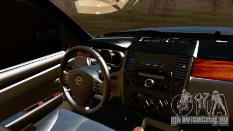 Nissan Frontier PRO-4X 2014 для GTA San Andreas вид справа
