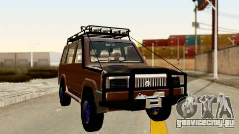 Toyota Kijang Grand Extra Off-Road для GTA San Andreas вид справа