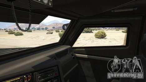 LAPD SWAT Insurgent для GTA 5 вид сзади справа