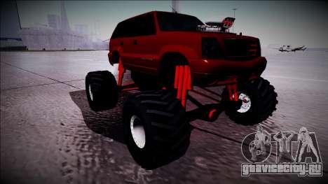 GTA 4 Cavalcade Monster Truck для GTA San Andreas