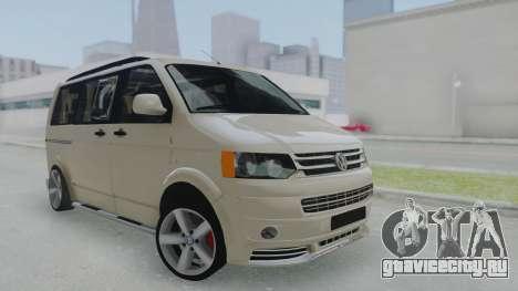 Volkswagen Transporter TDI для GTA San Andreas