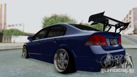 Honda Mugen FD6 для GTA San Andreas вид сзади слева