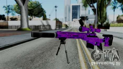 Purple Sniper для GTA San Andreas
