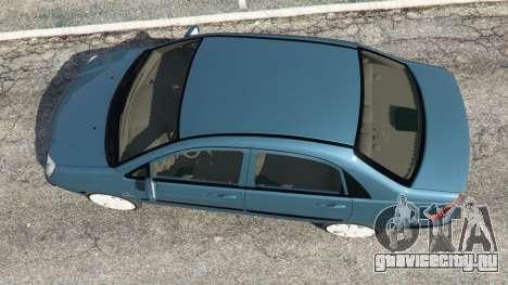 Suzuki Liana для GTA 5 вид сзади