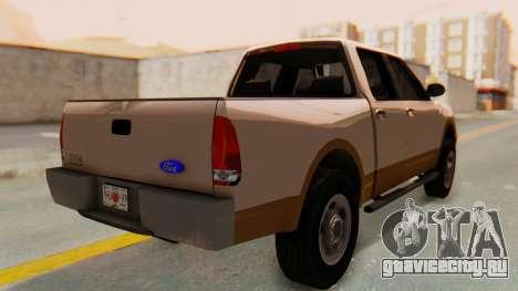 Ford F-150 2001 для GTA San Andreas вид слева