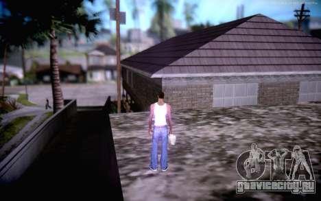 New CJ Home для GTA San Andreas четвёртый скриншот