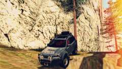 Subaru Forester 2008 Off Road для GTA San Andreas