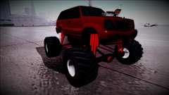 GTA 4 Cavalcade Monster Truck для GTA San Andreas