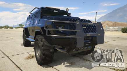 LAPD SWAT Insurgent для GTA 5