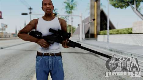 TAC-300 Sniper Rifle v2 для GTA San Andreas третий скриншот