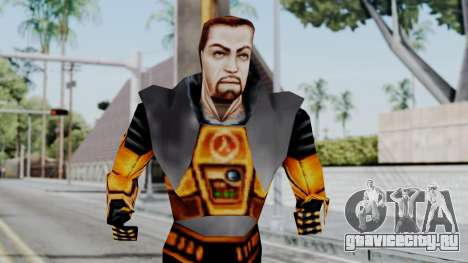 Gordon Freeman HEV SUIT from Half Life для GTA San Andreas