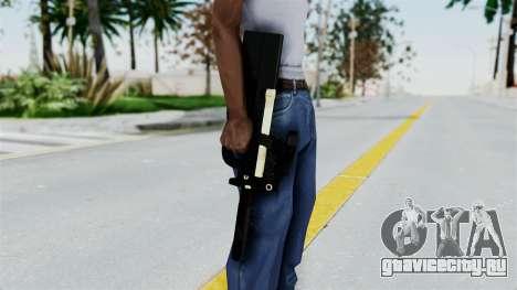 P90 Gold Silenced для GTA San Andreas третий скриншот