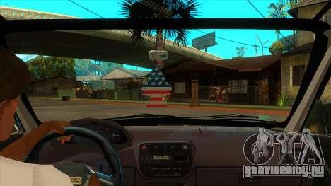 Honda Civic TskDan Onaylı hollandalı для GTA San Andreas вид изнутри