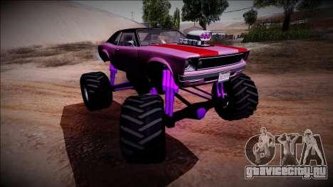 GTA 5 Declasse Tampa Monster Truck для GTA San Andreas вид сверху