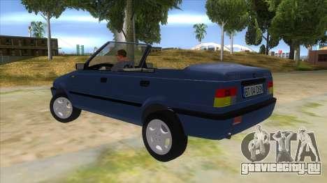 Dacia SuperNova для GTA San Andreas вид сзади слева