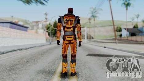 Gordon Freeman HEV SUIT from Half Life для GTA San Andreas третий скриншот