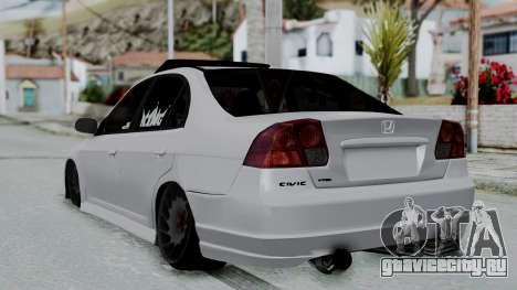 Honda Civic Vtec Special для GTA San Andreas вид слева