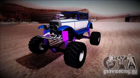 GTA 5 Albany Roosevelt Monster Truck для GTA San Andreas