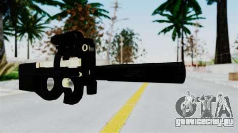 P90 Gold Silenced для GTA San Andreas