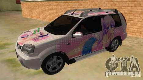 2005 Nissan X-Trail 2.5 XT Tomori Nao Itasha для GTA San Andreas