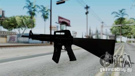 No More Room in Hell - M16A4 Carryhandle для GTA San Andreas второй скриншот