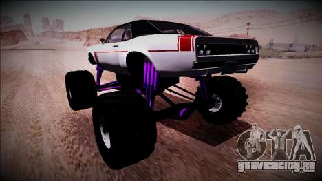 GTA 5 Declasse Tampa Monster Truck для GTA San Andreas вид слева