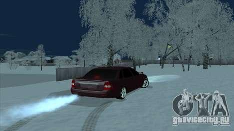 Ваз 2170 Седан для GTA San Andreas вид слева