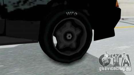 Hotring Elegy для GTA San Andreas вид сзади слева