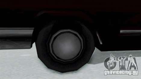 Дополненная Savanna для GTA San Andreas вид сзади слева